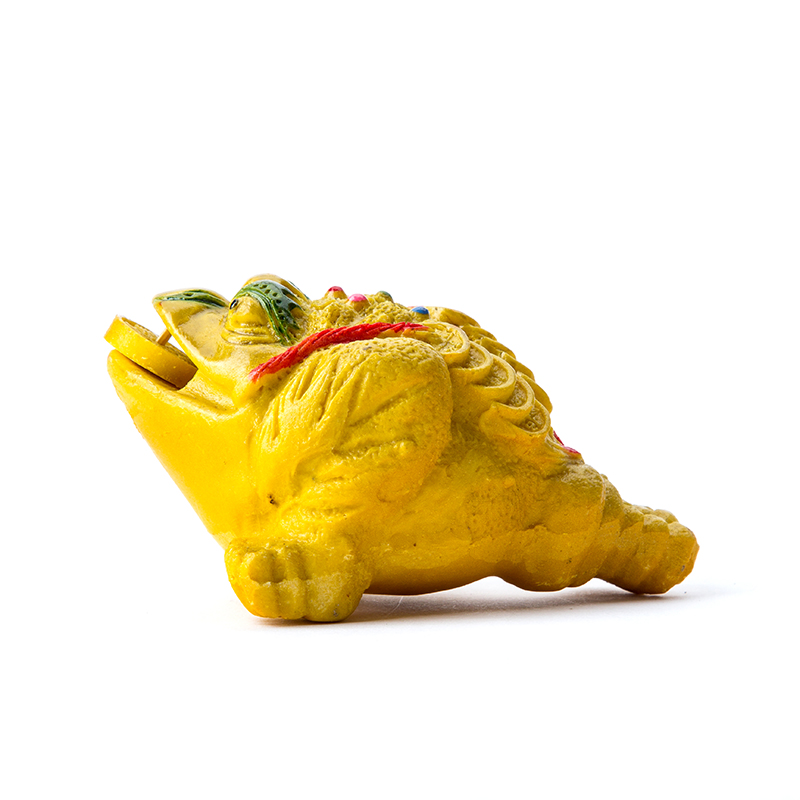 Purple Sand Tea Pet Yixing Purple Clay Toad Felicitous Wish of Making...