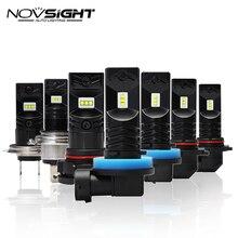 2pcs 1600Lm H11 LED Car Lights LED Bulbs 9005 HB3 9006 HB4 H1 H3 H7 H10 H16EU White DRL Fog Lights 6500K 12V Driving Lamp