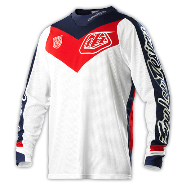 Hot Sale!2016 Troy Lee Designs TLD SE Pro Jersey Corse White Moto MX DH MTB  Jersey Bicycle Motorcycle long T-shirt d5041226e
