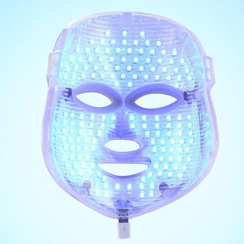 3/7 Colors Light Photon Electric LED Facial Mask PDT Skin Rejuvenation Anti Acne Wrinkle Removal Therapy LED Mask Beauty Salon