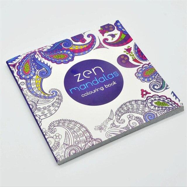 Mandala Buch 104 seiten Hardcover Spannungsarmglühen Zeichnung ...