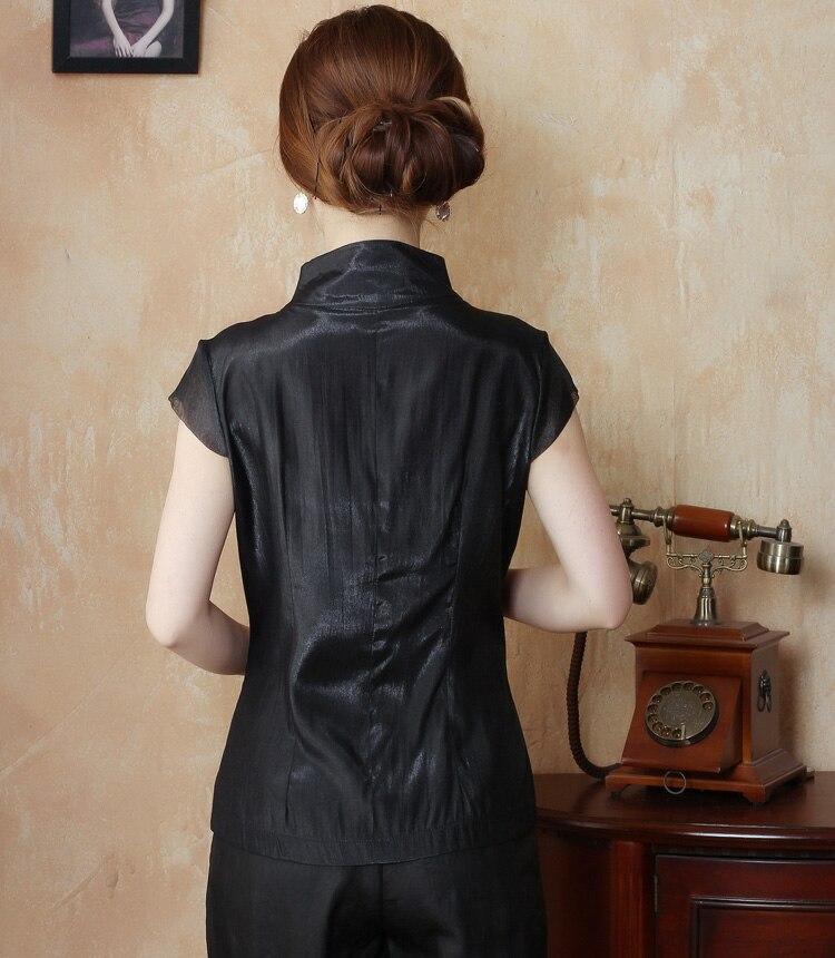 Xl Para Xxxl S white Tops Satén De Mujer Flores Camisa Femenina Bordadas L China Con ¡novedad 14 M Nacional beige Seda Ns Blusa Black Xxl PYHwH6qT