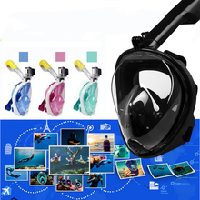 Full Face Snorkeling Mask Diving Scuba Underwater Anti Fog Women Men Kids Swimming Snorkel Equipment