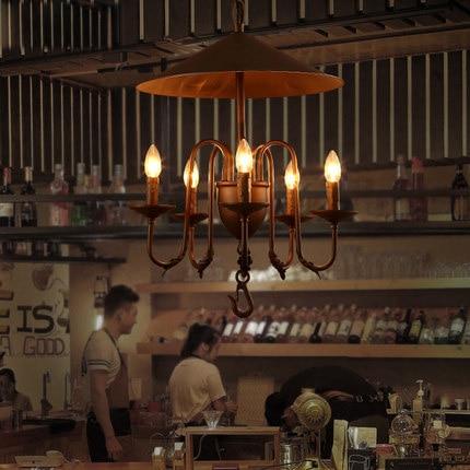 Personality Industrial Style Pendant Lighting Creative Vintage Pendant Light Coffee Shop Bar Hanging Lamp Art Deco Lighting luals loft hanging lamp cafe bar glass bottles vintage industrial pendant light personality restaurant home art deco lighting