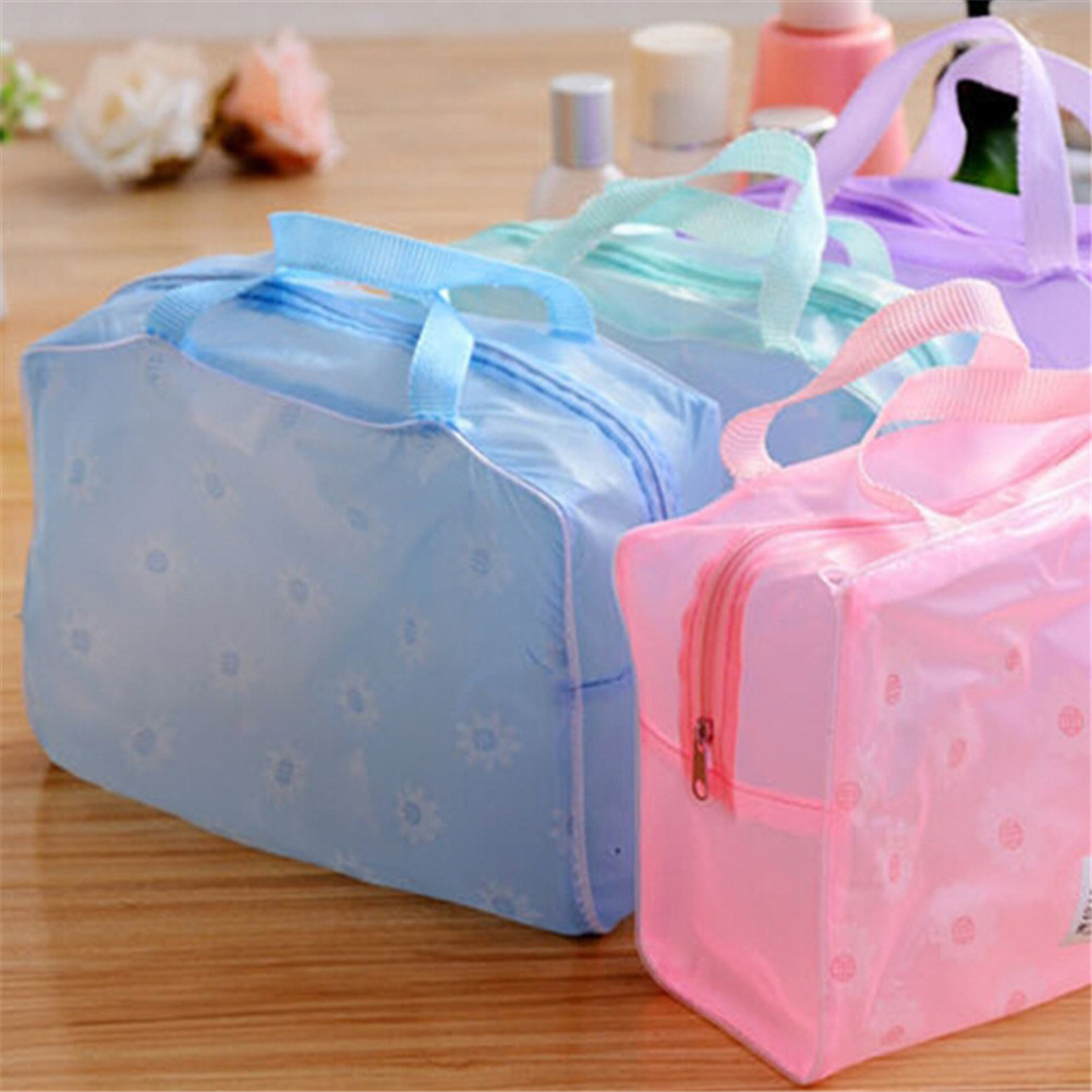 Lovely Plastic Transparent Organizer bags Cosmetic Bags Makeup Casual Travel Waterproof Toiletry Wash Bathing Storage bags|cosmetic bag|bag cosmetic bagorganizer bag - AliExpress