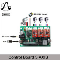 ICROATO GRBL 0 9 USB Port CNC Engraving Machine Control Board 3 Axis Control Laser Engraving