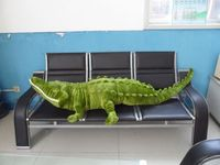 new simulaiton plush crocodile toy creative crocodile pillow gift about 160cm 0334