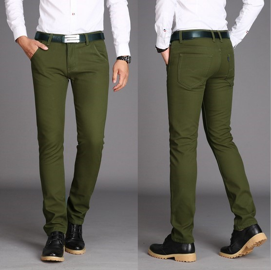 Mens Green Denim Jeans | Jeans To