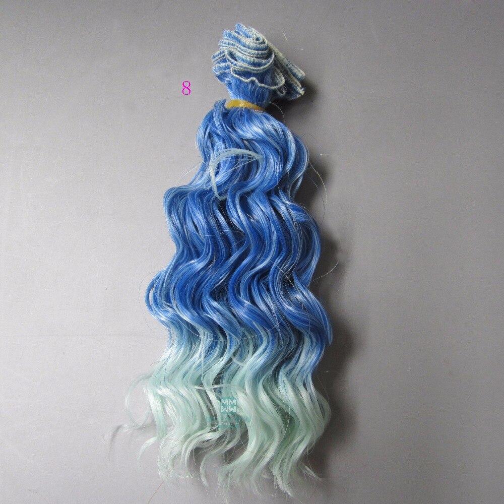 1st 15cm & 25cm * 100cm hår docka peruk för 1/3 1/4 1/6 BJD / SD - Dockor och tillbehör - Foto 2