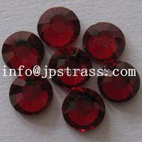 Free shipping !!! SS 16 size 4mm with 1440 pcs per pack red color hot fix dmc strass ;used for waterproof phone case