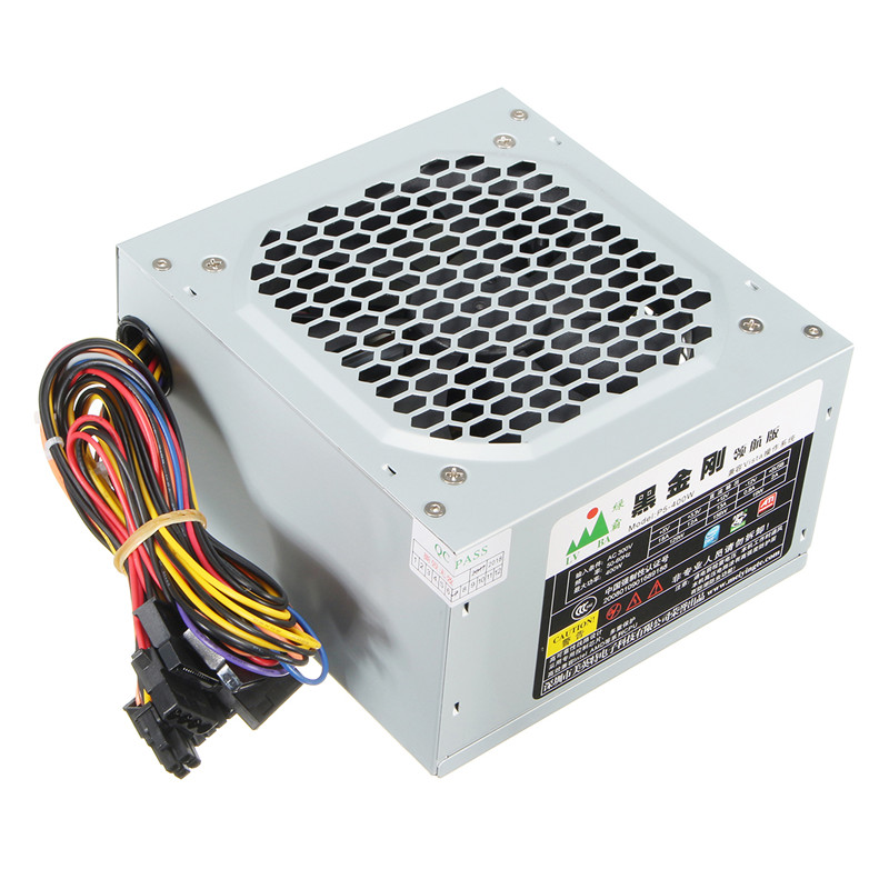 High Quality Computer PC Power Supply Computer PC CPU Power Supply 20+4-pin 120mm Fans ATX PCIE w/ SATA 600w atx 12v gaming psu 600w computer pc power supply computer pc cpu power supply 20 4pin 120mm fans pcie sata desktop power