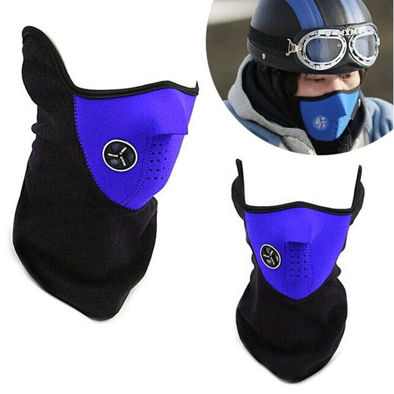 Winter outdoor sports mask neck warm neck half mask windproof bicycle riding mask ski veneer outdoor dust man and woman mask