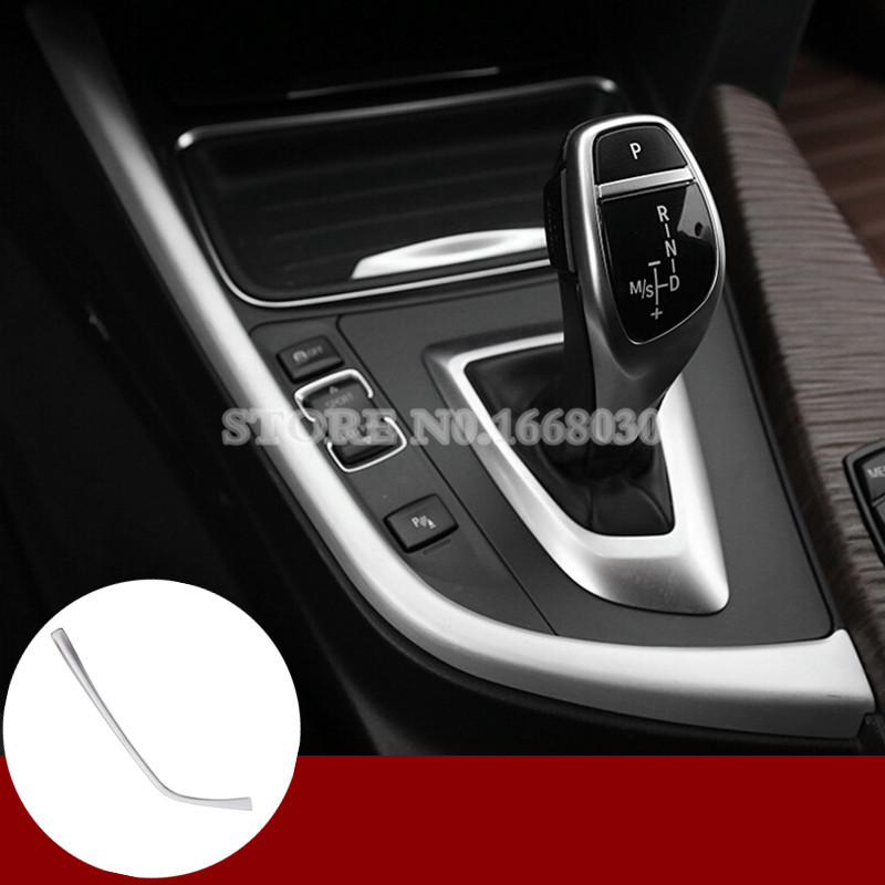 Discount Auto Center >> Inner Console Gear Shift Box Frame Cover Trim For BMW 3 4 Series F30 F31 F32 F34 2013 2018-in ...