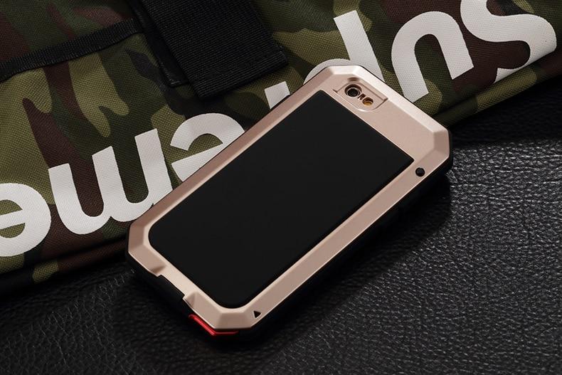 HTB1g21ZeH1YBuNjSszhq6AUsFXa6 Heavy Duty Protection Doom armor Metal Aluminum phone Case for iPhone 11 Pro Max XR XS MAX 6 6S 7 8 Plus X 5S 5 Shockproof Cover