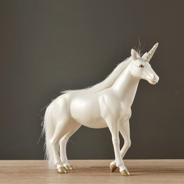 rsine licorne salon bureau creative art dcoration danniversaire de mariage cadeau cheval - Cadeau Cheval
