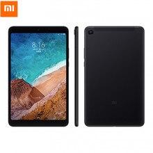 Xiaomi mi Pad 4 4 г Phablet 8,0 дюймов mi UI 9 64-разрядный Восьмиядерный процессор Qualcomm Snapdragon 660 Core 4 ГБ Оперативная память 64 ГБ eMMC Встроенная память две камеры Wi-Fi
