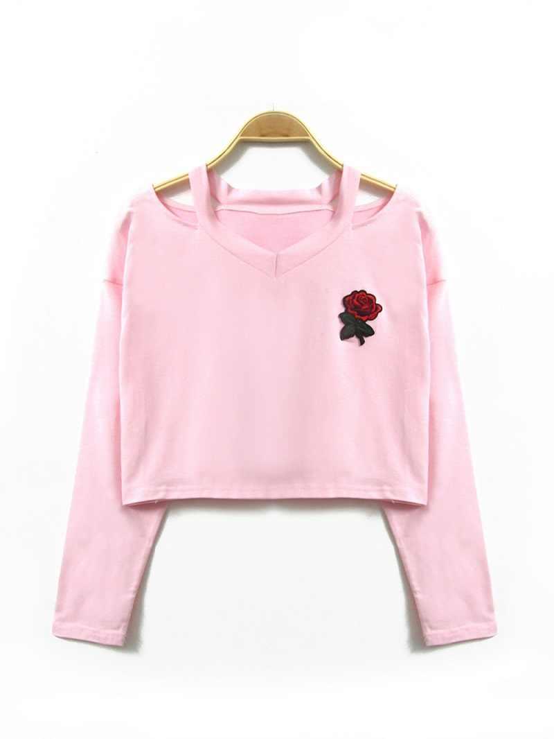 Для женщин спортивный костюм с принтом «розы»; Повседневная Для женщин толстовки сорняков Костюмы Seventeen; Кей-поп Moleton женское Inverno Для женщин кофта с аппликацией в виде