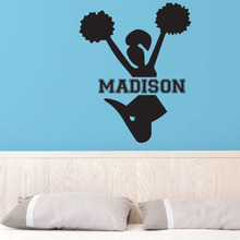 girls wall stickers bedroom removable home decor wall decals customized name vinyl sticker