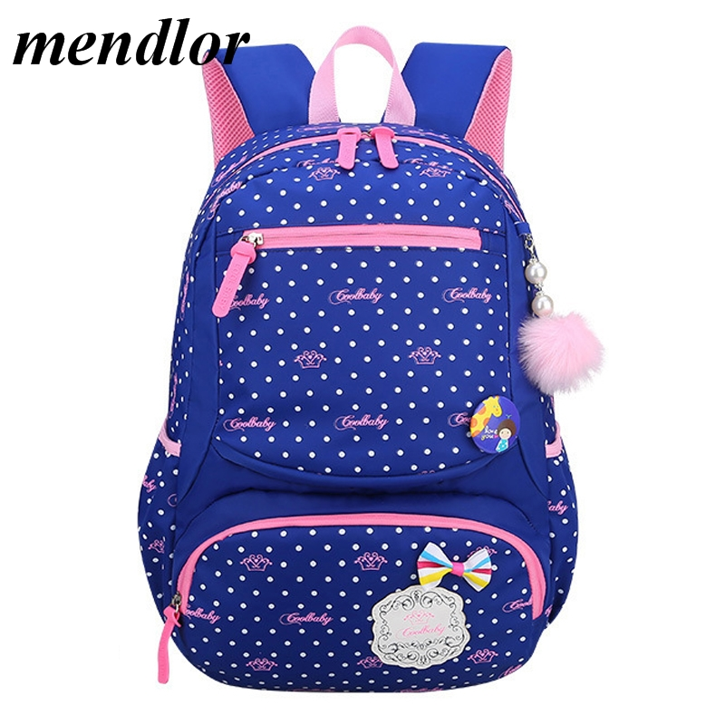 Cute Children School Bags For Girls Waterproof printing Backpack Kids book bag Satchel Child Schoolbag rucksack mochila