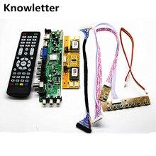 "DVB T2/dvb t/DVB C LCD سائق التلفزيون الرقمي تحكم مجلس عدة 20 ""LTM200KT01 1600*900 وحدة تحكم بشاشة إل سي دي مجلس لتقوم بها بنفسك عدة"