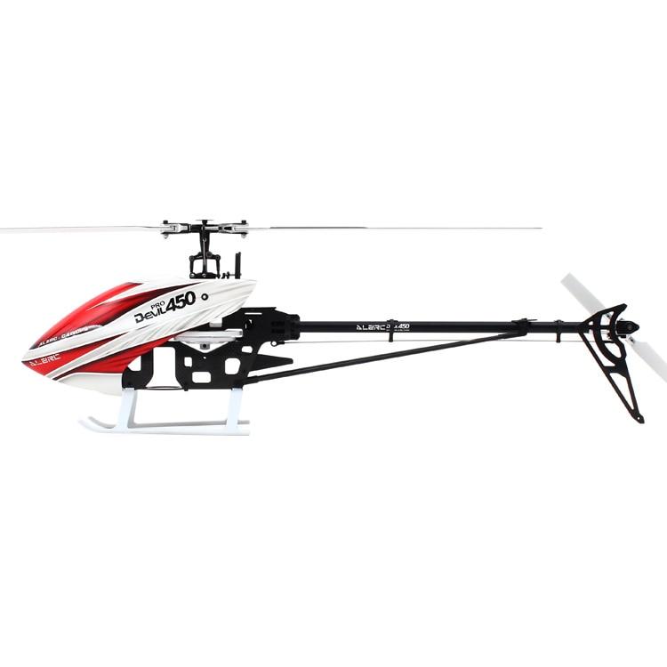 ALZRC - Devil 450 Pro V2 FBL KIT - Black - 17H4PV2-FBK alzrc 450 helicopter devil 450 pro v2 fbl kit silver