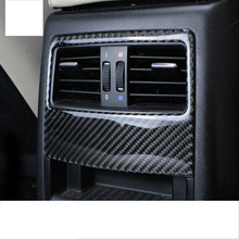 цена на lsrtw2017 carbon fiber car armrest rear vent trims for bmw 3 series 320 318 316 325 330 335 340 328 e90 e91 2005-2012 2011 2010