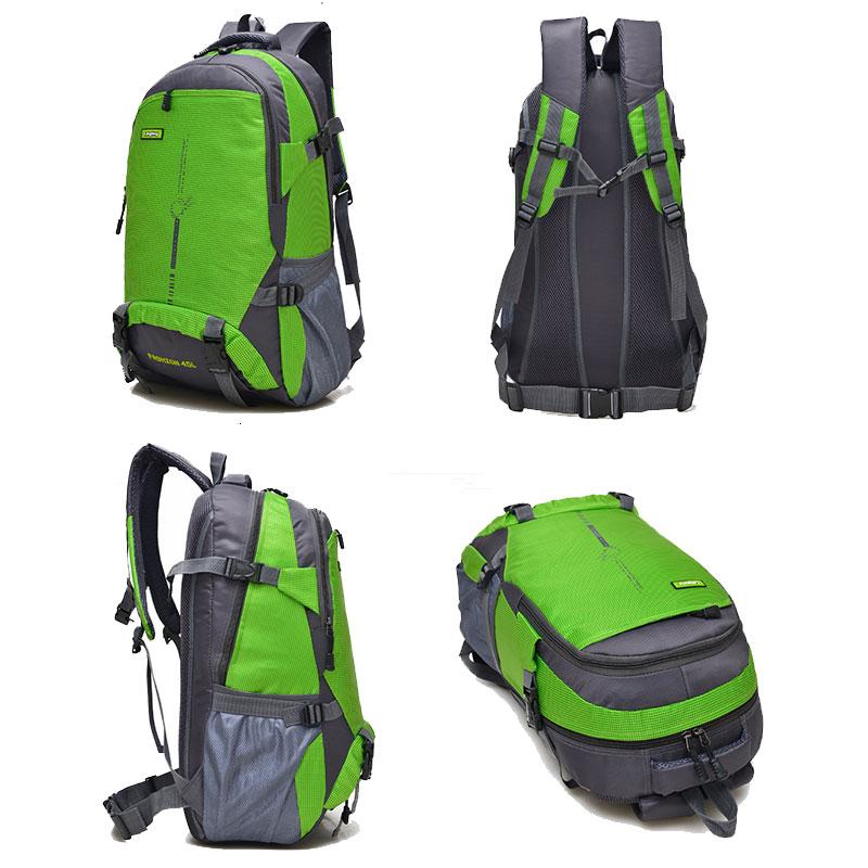 Comprar 45L Mochila Camping Nylon mochilas senderismo escalada viajar  Mochila deportes senderismo cosméticos portátil paquete XA1303A Online  Baratos. d2d00f46f4454