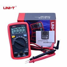 New UNI-T type UT33A+ Palm size Multimeter LCD backlight auto range AC DC voltage current resistance +2mF capacitance tester