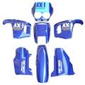 ABS Plastic Fairing Cowl Bodywork Kit Set For Honda NX250 AX-1 NX 250 Sports Traverse Blue New