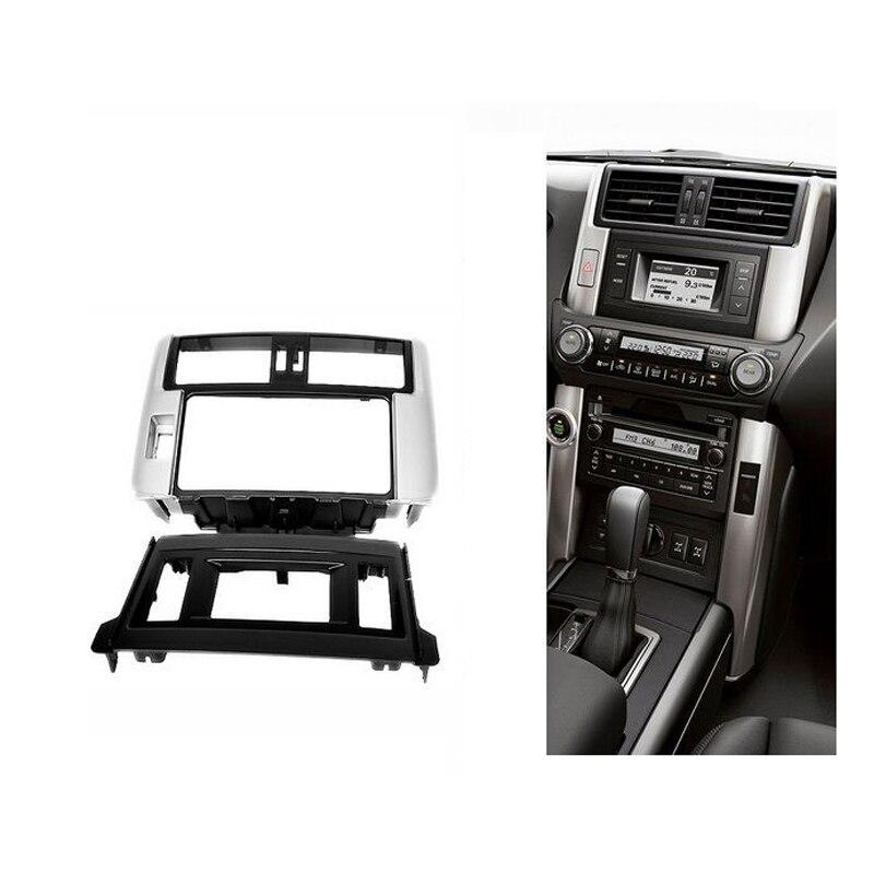 для Тойота Ленд Крузер Прадо (150) 2009+ двойной Дин стерео панель Фризовая Радио DVD тире установка установки