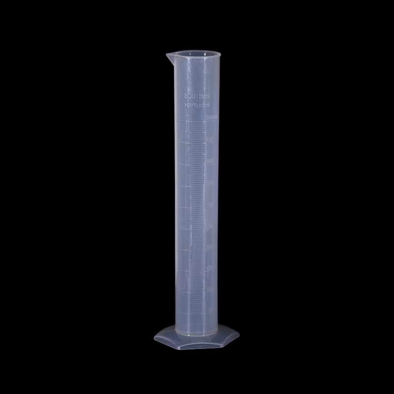 2 Pieces Plastic Measuring Cylinder 100ml