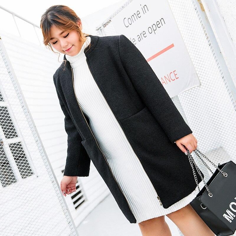 Рождество зимние теплые кашемировые жилет Новый 200 jin молнии свободные корейской версии тонкое пальто ткани альпака 529