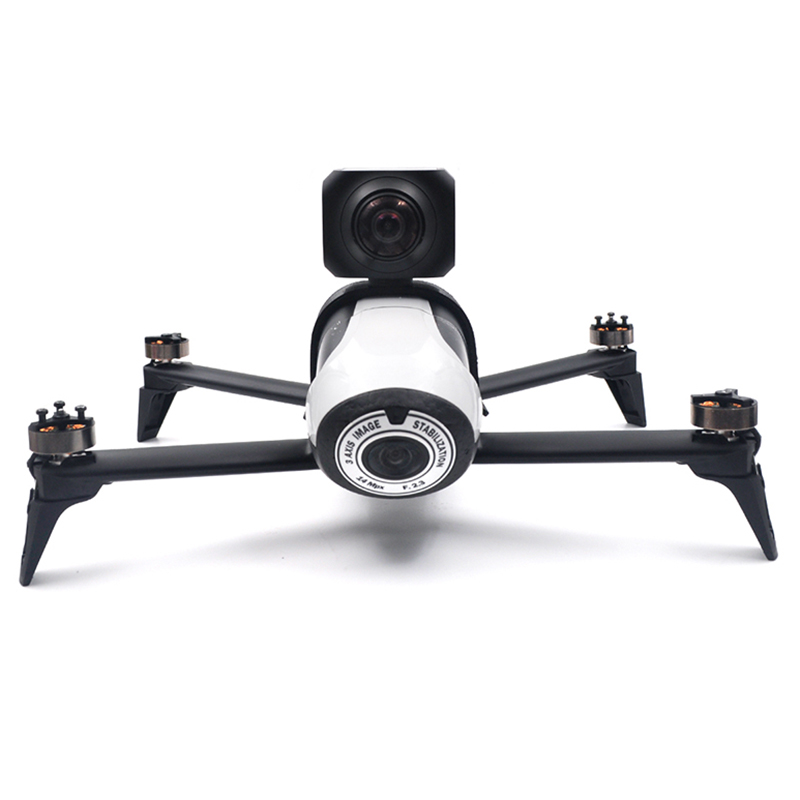 For Parrot Bebop 2 Drone Accessories Spare Parts Mount Holder Frame Fixed Accessories For 360 Gopro Camera Holder
