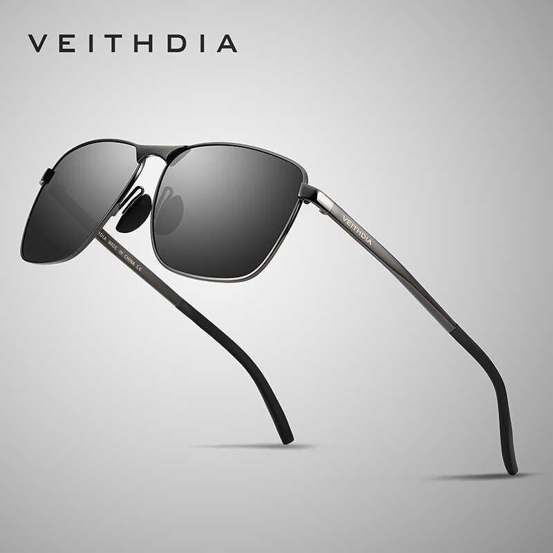 VEITHDIA แบรนด์แว่นตากันแดด Vintage Vintage Polarized UV400 เลนส์แว่นตาชายดวงอาทิตย์แว่นตาสำหรับผู้ชาย/ผู้หญิง gafas VT2462