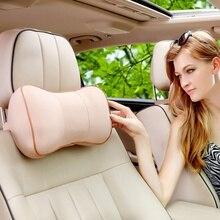 Автомобильная подушка для шеи из пены памяти Удобная подушка для подголовника сиденья автомобиля Удобная подушка для шеи для автомобиля
