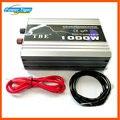 TBE 1000 W de alta Potência DC12V 24 V 48 V para AC 110 V 220 V Auto Car Potência Do Inversor de Onda Senoidal Pura com Adaptador de Cabo de Alimentação