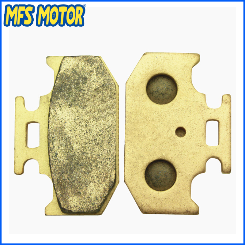 Sintered Front Brake Pads For Yamaha YZ125 WR250 YZ250 YZ400 Majesty125 YP125 Motorcycle Part  motorcycle brake pads for yamaha rz50 tw125 tw200 yp250 yzf600 yzf1000 r1 mbk yp125 yp250 italjet linhai new