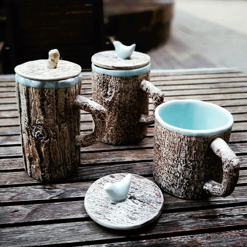 300ml Handmade Vintage Ceramic Porcelain And Pottery Mug