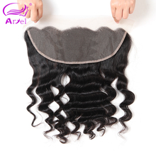 Ariel Brazilian Loose Wave Human Hair Frontal Closure 13*4 Remy Hair Natural Color Free Shipping Natural Color