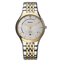 Berny Paar montre reine roi couronne Fuax cuir Quartz analogique montres chronographe femmes hommes 2752 ML-in Geliefdes Horloges van Horloges op  Groep 2