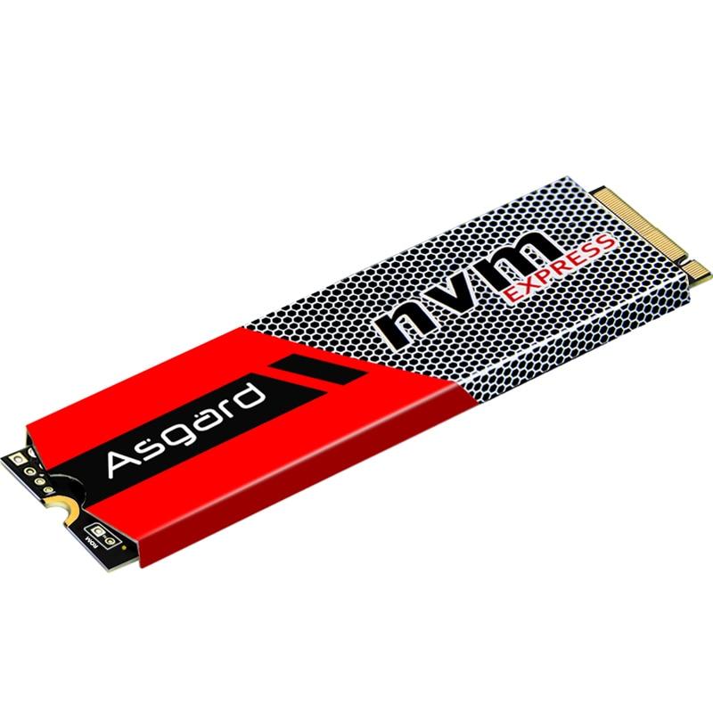 Venta superior Asgard 3D NAND 256GB 512 GB 1 TB M.2 NVMe pcie SSD disco duro interno para ordenador portátil de escritorio de alto rendimiento PCIe NVMe - 3