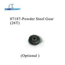 RC CAR PARTS STEEL GEAR 26T FOR HSP BLUE ROCKET ON ROAD CAR 94052 (part no. 07187) hg p401 p402 p601 rc car motor gear 26t 28t 30t