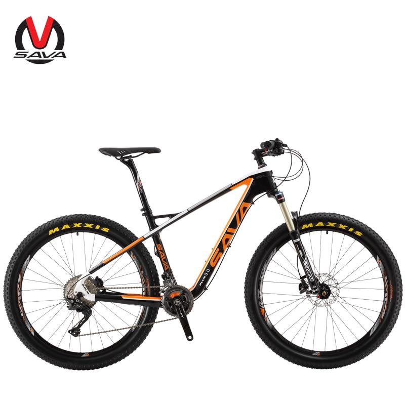 Sava plus3.0 bicicleta de montaña 27.5 pulgadas carbono Fibra Marcos ...