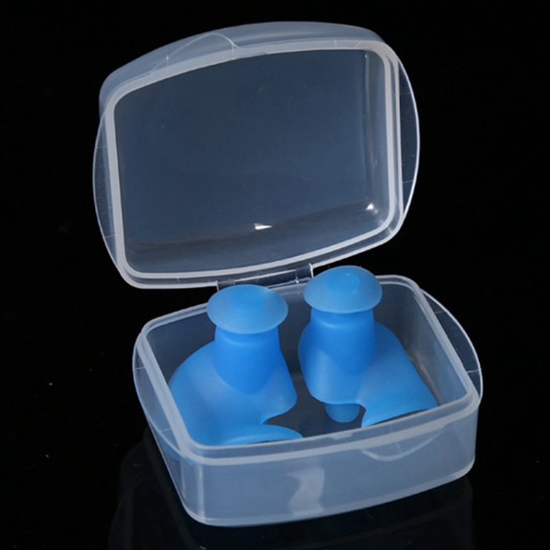 Ear Plugs Silicone Ear Protection Earplugs For Sleeping Foam Plug Anti Noise Ear Protectors Noise Reduction Hearing Protection-in Ear Protector from Security & Protection