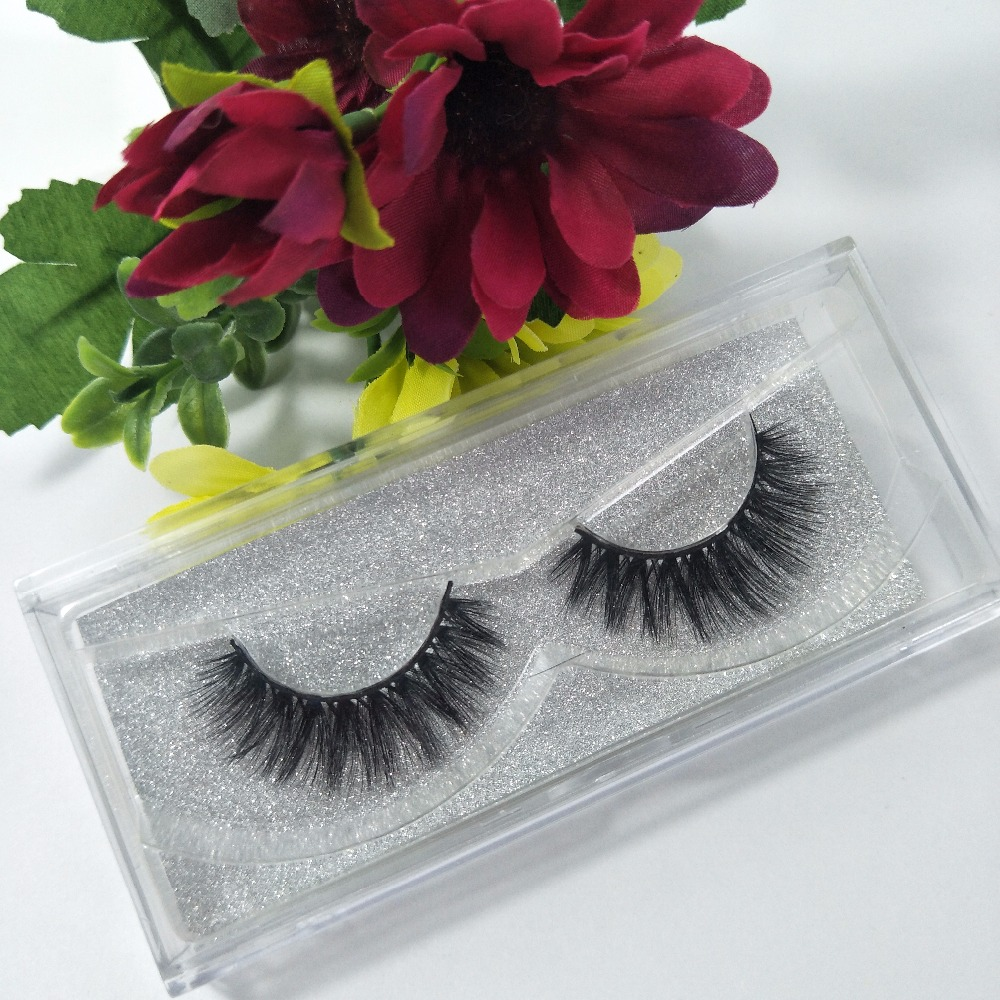 3D Fake Mink Strip Eyelashes Extension Sticker Logo Soft Hand Made Individual Eyelashes Extension Free Shipping