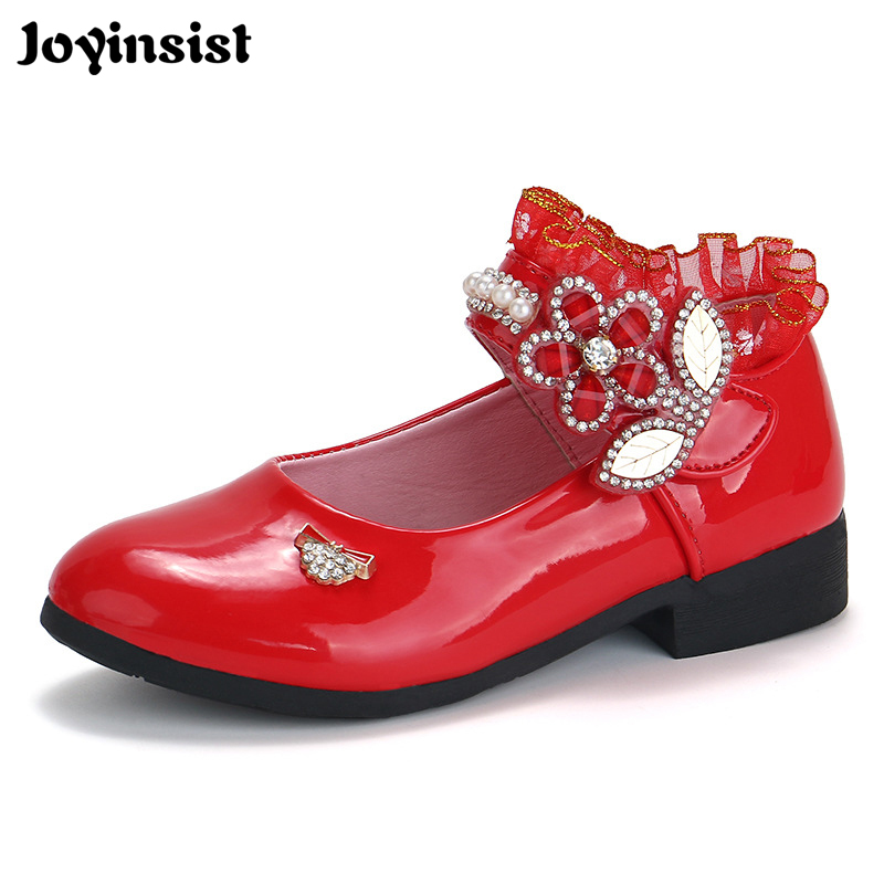 Childrens shoes spring Korean cute childrens shoes 2018 new sweet girl students dance show