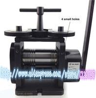 Высокое качество pe pe Комбинации прокатки ролик машина 110 мм, ювелирные изделия Инструменты оборудования