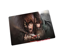 Attack on Titan mouse pad anime gaming mouse pad laptop large mousepad notbook computer pad to mouse gamer play mats