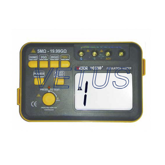 VC 60D+  New Type Digital Insulation Resistance Tester