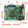 1 Pc Universal HDMI VGA 2AV Audio Video 30P LVDS Controller Board Module Monitor Kit for Raspberry PI 3 LCD LED Display Panel
